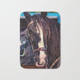 Concept Kaltblutmarkt 2018 : Horse eyes Bath Mat