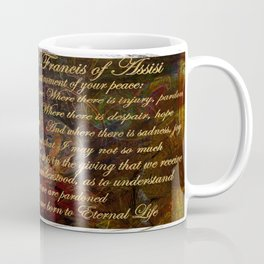 The Prayer of St Francis of Assisi Coffee Mug