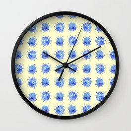 Vicious Viruses Wall Clock