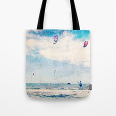 Kite Sailing  Tote Bag
