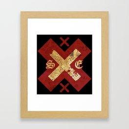 Strage Edge xXx Framed Art Print