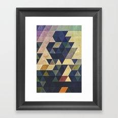 plyss Framed Art Print