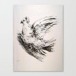 Advertisement la colombe  colombe vintage Canvas Print