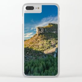 Mountain Landscape in Spain Clear iPhone Case