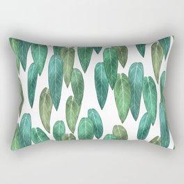 Queen Anthurium leaves Rectangular Pillow