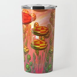 Fantasy alien garden Travel Mug
