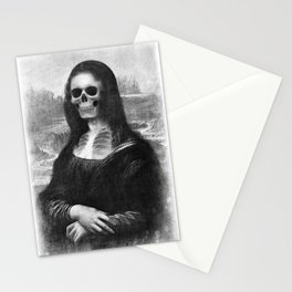 Mona Lisa - Xray Stationery Cards