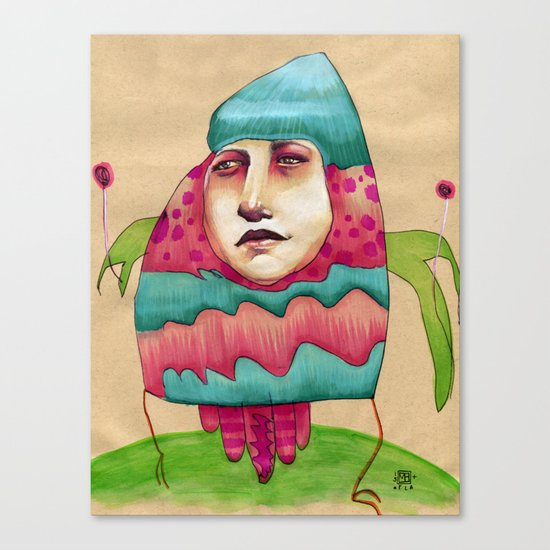 Lolly Canvas Print