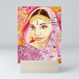 India Bride - Ethnic Art Mini Art Print