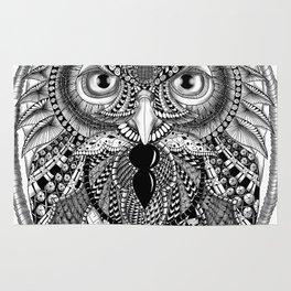 Ornate Owl Rug