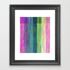 Big Wild Stripes Framed Art Print