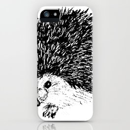 Gilley the Hedgehog iPhone Case