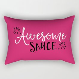 Awesome Sauce Funny Quote Rectangular Pillow