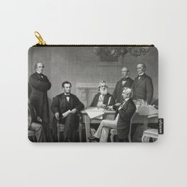 President Lincoln and His Cabinet Carry-All Pouch