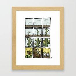 Cactus Fruit Harvest - Summer Framed Art Print