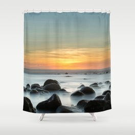 Sunset Zonte Shower Curtain