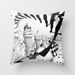 PLEASE, COME IN CONTACT OUR PLANET EARTH Throw Pillow