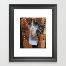 FULL SPEED AHEAD Framed Art Print