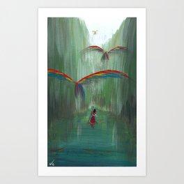 Wild Birds #1 Art Print