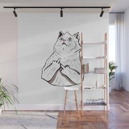 Fluff Off Wall Mural