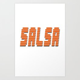 Salsa Pure Anthony Art Print