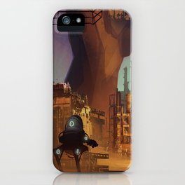 Desert industry iPhone Case