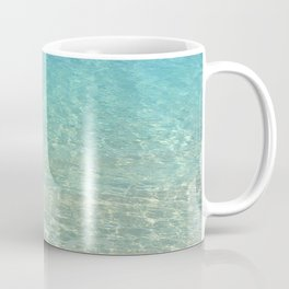 Colors of the Sea Water - Clear Turquoise Coffee Mug