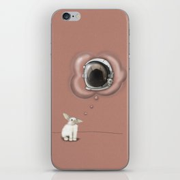 I Want To Be An Astronaut iPhone Skin
