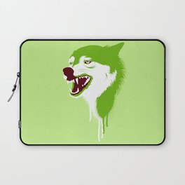 Wolf Head Laptop Sleeve