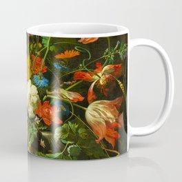 "Abraham Mignon ""The Overturned Bouquet"" Coffee Mug"