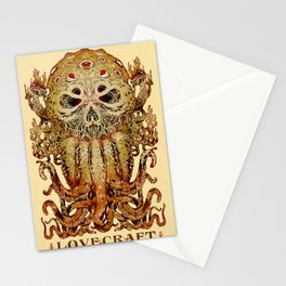 Lovecraft Stationery Cards
