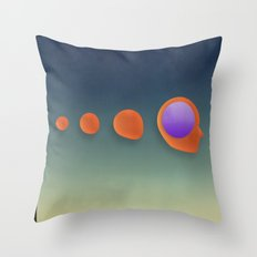 GEODETIC Evolution Throw Pillow