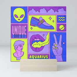 Aquarius Mini Art Print