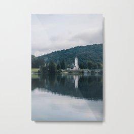 Bohinj, Slovenia Metal Print