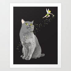 pixel dust Art Print