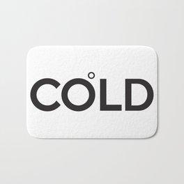 COLD (Celsius Symbol) Bath Mat