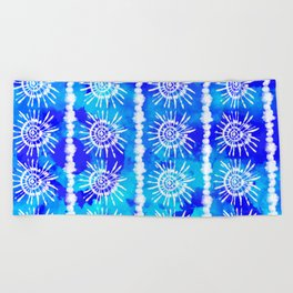 Beach Tie Dye Beach Towel