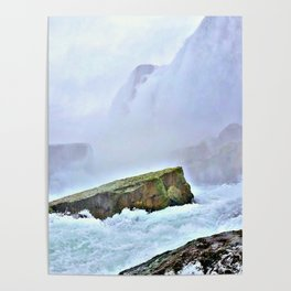 Waterfall Dreams Photography Poster