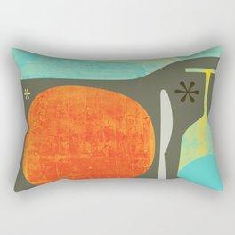 Wine & Dine Kitchen Art Rectangular Pillow