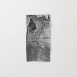 grave under leafs Hand & Bath Towel
