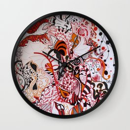 Explosive Wall Clock