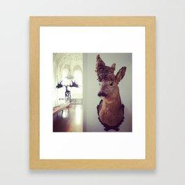 Ungulates Framed Art Print