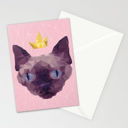 King Cat. Stationery Cards