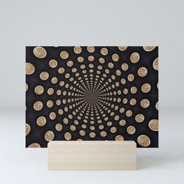 Magical Moon Spiral Mini Art Print