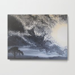 Minter Tree Metal Print