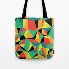 Faceted Kaleidescope Tote Bag