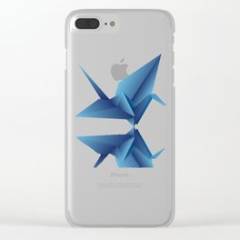 Paper Wings Clear iPhone Case