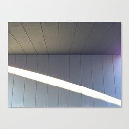 Stripe Of Sunlight Canvas Print