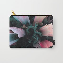 glitch flower blossom Carry-All Pouch