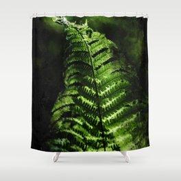 Fern #fern #botanical Shower Curtain